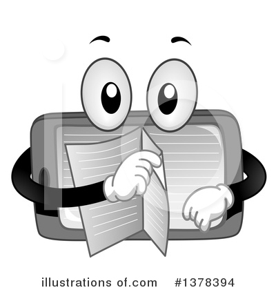 Royalty-Free (RF) Book Clipart Illustration by BNP Design Studio - Stock Sample #1378394