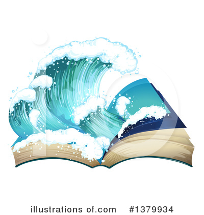 Waves Clipart #1379934 by Graphics RF