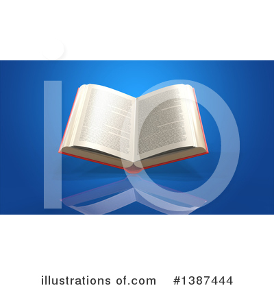Royalty-Free (RF) Book Clipart Illustration by Julos - Stock Sample #1387444