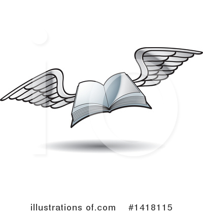 Book Clipart #1418115 by Lal Perera
