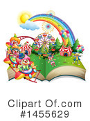 Royalty-Free (RF) Book Clipart Illustration #1455629