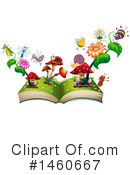 Royalty-Free (RF) Book Clipart Illustration #1460667