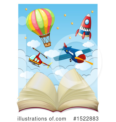 Plane Clipart #1522883 by Graphics RF