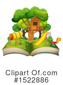 Book Clipart #1522886 by Graphics RF