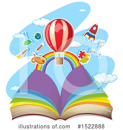 Hot Air Balloon Clipart #1522888 by Graphics RF
