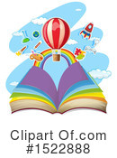 Book Clipart #1522888 by Graphics RF