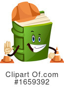 Book Clipart #1659392 by Morphart Creations