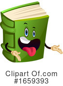 Book Clipart #1659393 by Morphart Creations