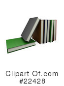 Book Clipart #22428 by KJ Pargeter