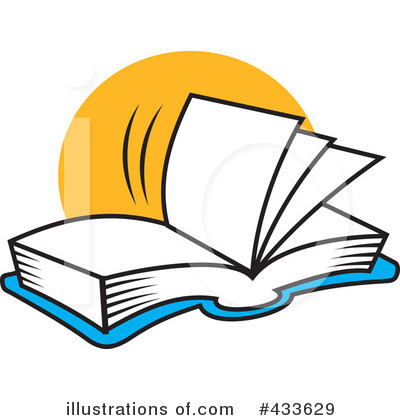 Reading Clipart #433629 by Johnny Sajem