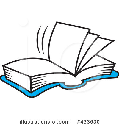 Reading Clipart #433630 by Johnny Sajem
