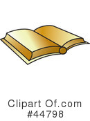 Royalty-Free (RF) Book Clipart Illustration #44798