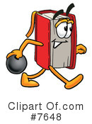 Book Clipart #7648 by Toons4Biz