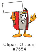 Book Clipart #7654 by Toons4Biz