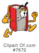 Book Clipart #7672 by Toons4Biz