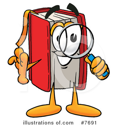 Book Clipart #7691 by Toons4Biz