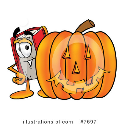 Book Clipart #7697 by Toons4Biz