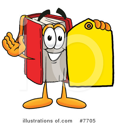 Book Clipart #7705 by Toons4Biz