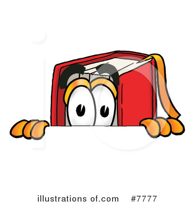 Book Clipart #7777 by Toons4Biz