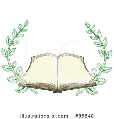 Royalty-Free (RF) Book Clipart Illustration by BNP Design Studio - Stock Sample #85848