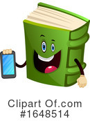 Book Mascot Clipart #1648514 by Morphart Creations