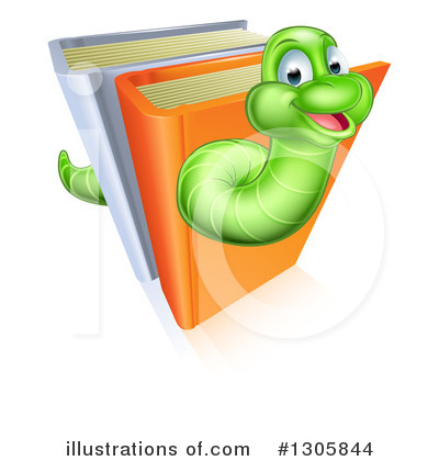 Worm Clipart #1305844 by AtStockIllustration