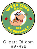 Book Worm Clipart #97492 by Hit Toon