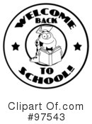 Book Worm Clipart #97543 by Hit Toon