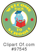 Book Worm Clipart #97545 by Hit Toon