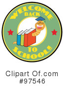 Book Worm Clipart #97546 by Hit Toon