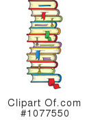 Royalty-Free (RF) Books Clipart Illustration #1077550