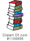 Books Clipart #1106655 by Cartoon Solutions