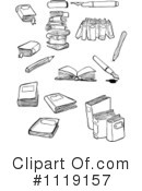 Books Clipart #1119157 by lineartestpilot