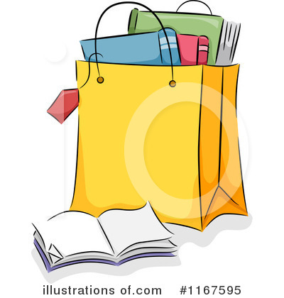 Shopping Bags Clipart #1167595 by BNP Design Studio