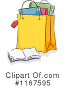 Royalty-Free (RF) Books Clipart Illustration #1167595