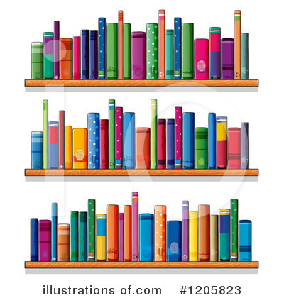 Book Clipart #1205823 by Graphics RF