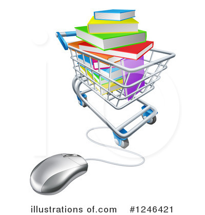 Shopping Cart Clipart #1246421 by AtStockIllustration