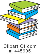 Books Clipart #1445995 by Johnny Sajem
