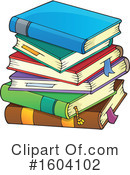 Books Clipart #1604102 by visekart