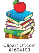 Books Clipart #1604103 by visekart