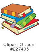 Books Clipart #227496 by visekart