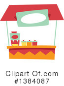 Royalty-Free (RF) Booth Clipart Illustration #1384087
