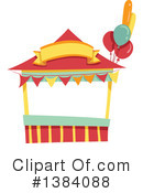 Royalty-Free (RF) Booth Clipart Illustration #1384088