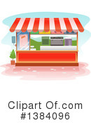Royalty-Free (RF) Booth Clipart Illustration #1384096