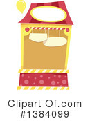 Royalty-Free (RF) Booth Clipart Illustration #1384099