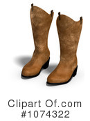 Boots Clipart #1074322