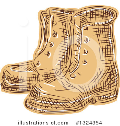 Boot Clipart #1324354 by patrimonio