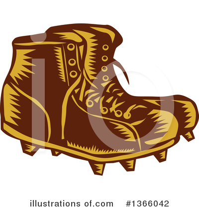Boot Clipart #1366042 by patrimonio