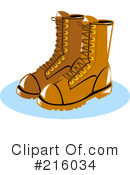 Boots Clipart #216034
