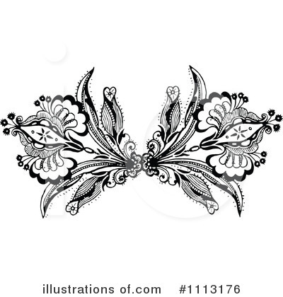 Floral Clipart #1113176 by Prawny Vintage